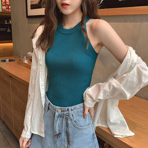 Stylish O-Neck Off Shoulder Crop Tops For Women - TUZZUT Qatar Online Store