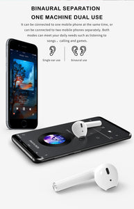 G-tab TW3 Pro Wireless Stereo V5.0 Bluetooth Headset with Charging Case + Free Silicon Case - TUZZUT Qatar Online Store