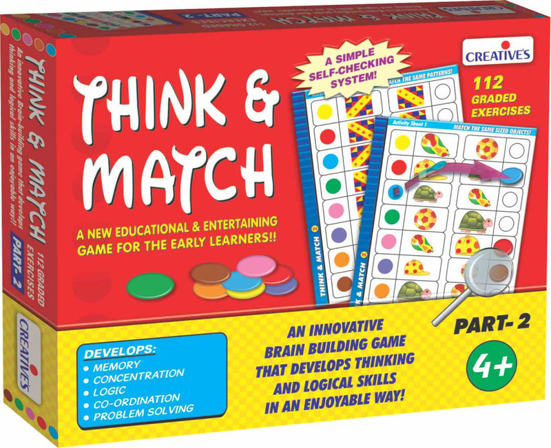 Think and Match -II - TUZZUT Qatar Online Store