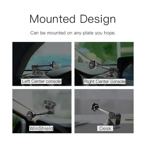 Yesido C41 Phone Car Mount Universal 360 Degree Magnetic Car Mobile Phone Holder - TUZZUT Qatar Online Store