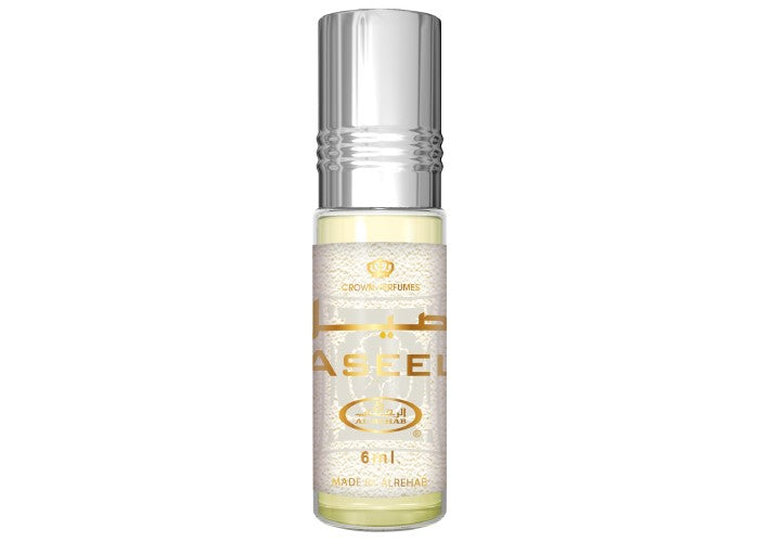 Aseel - 6ml (.2oz) Roll-on Perfume Oil by Al-Rehab (Crown Perfumes) (Box of 6) - TUZZUT Qatar Online Store