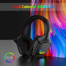 Load image into Gallery viewer, ONIKUMA K20 RGB Light Gaming Headset HD Stereo 3.5mm Audio with Mic for PS4 Xbox One Switch - TUZZUT Qatar Online Store