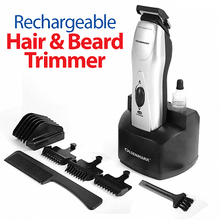 Load image into Gallery viewer, Olsenmark OMTR3001 Rechargeable Hair & Beard Trimmer - TUZZUT Qatar Online Store
