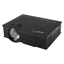 Load image into Gallery viewer, Bison Entertainment HD LED Projector, 1200 Lumens, Wi-Fi Ready With HDMI, VGA, AV, USB, SD Card Slot, BS-46 - TUZZUT Qatar Online Store
