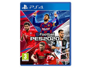 eFootball Konami PES 2020 English - PlayStation 4 - TUZZUT Qatar Online Store