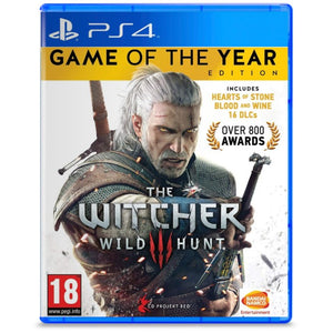 The Witcher 3 Game of the Year Edition - PS4 - TUZZUT Qatar Online Store