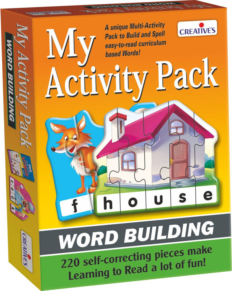 Word Building- Activity Pack - TUZZUT Qatar Online Store