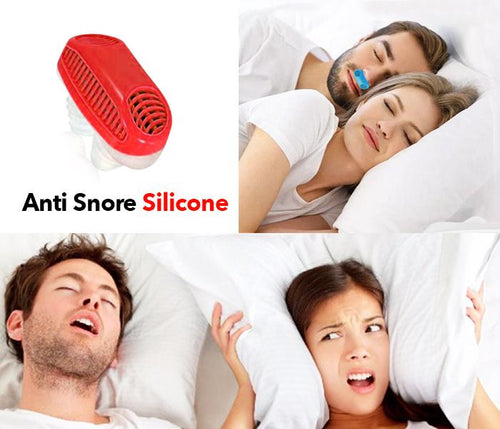 Silicone Anti Snore Device for better and Comfortable sleep - TUZZUT Qatar Online Store