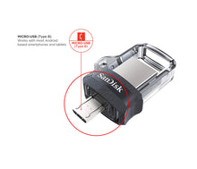 Load image into Gallery viewer, Sandisk Ultra 64GB Dual Drive M3.0 - OTG Flash Drive for Android Smartphones - TUZZUT Qatar Online Store