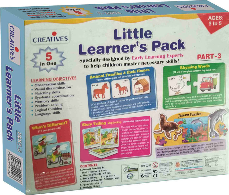 Little Learners Pack 3 - TUZZUT Qatar Online Store