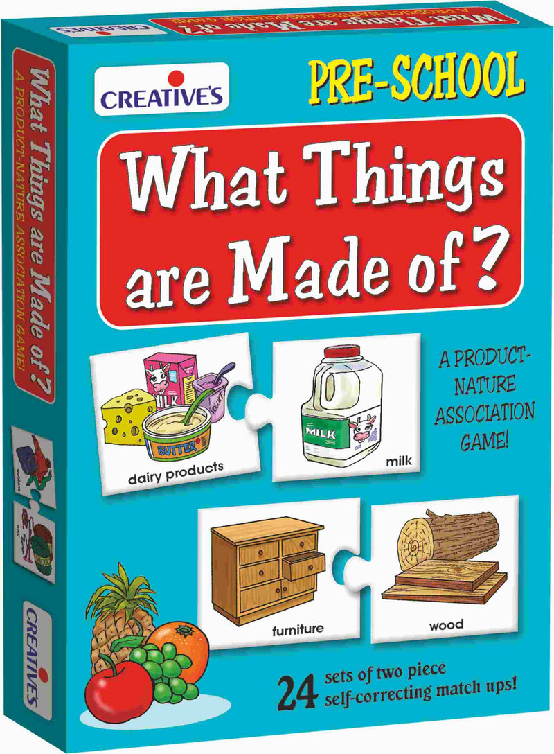 What Things are Made of - TUZZUT Qatar Online Store