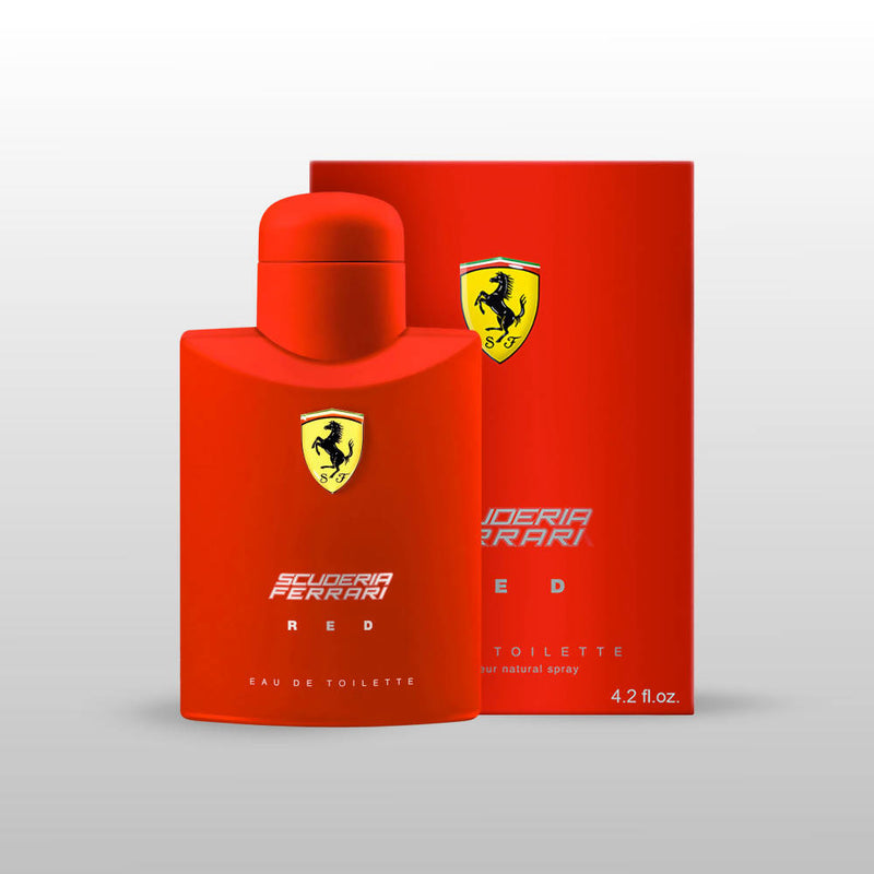 Scuderia Ferrari Red Eau de Toilette - 125 ml (For Men) - TUZZUT Qatar Online Store