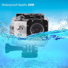 Load image into Gallery viewer, 4K Wifi Ultra HD 1080P Sport Action Camera DV Video Waterproof Camcorder with remote - TUZZUT Qatar Online Store