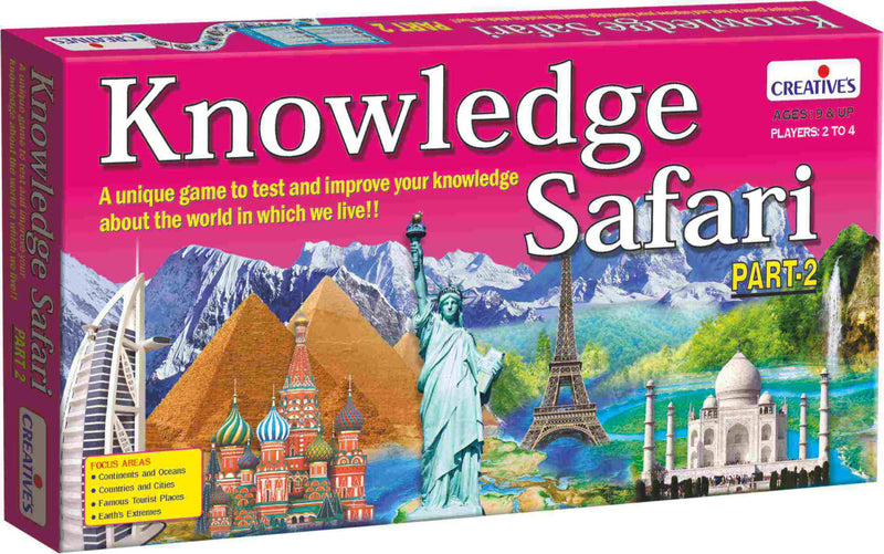 Knowledge Safari, Part 2 - TUZZUT Qatar Online Store