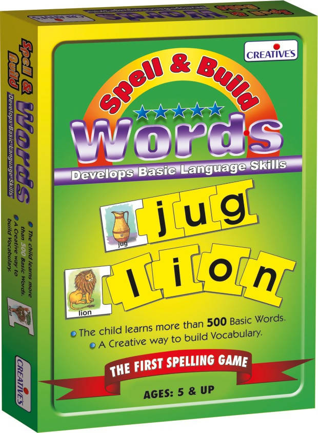 Spell & Build Words - TUZZUT Qatar Online Store