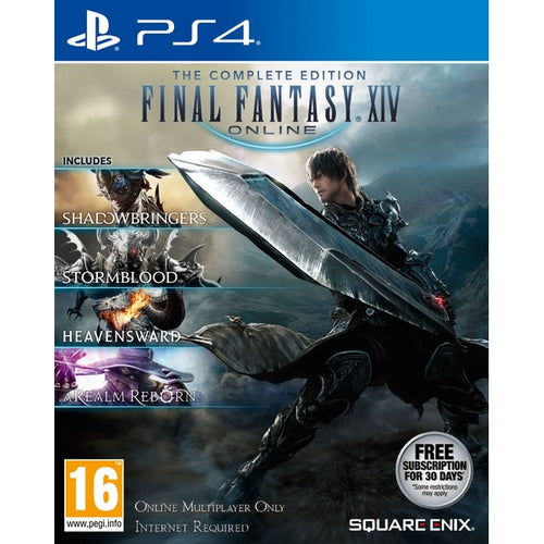 Final Fantasy XIV The Complete Collection - PS4 - TUZZUT Qatar Online Store