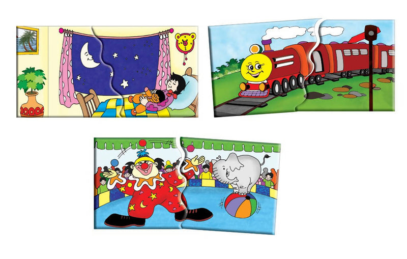 Link Ups 2 (10 two piece Puzzles) - TUZZUT Qatar Online Store