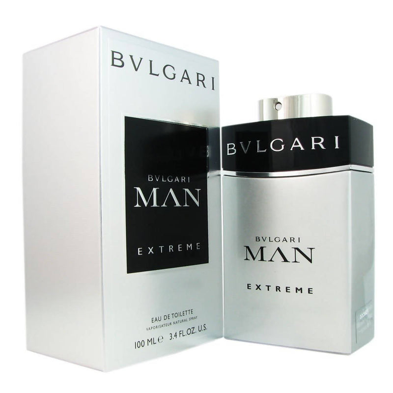 Bvlgari Man Extreme Cologne Spray for Men 100ml by Silverstar - TUZZUT Qatar Online Store