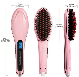 Fast Hair Straightening Brush