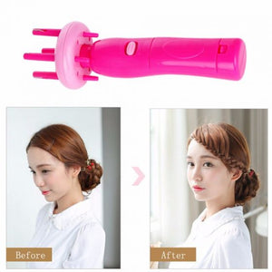 Braid X-Press Automatic Hair Twist Device - TUZZUT Qatar Online Store