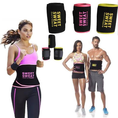 Slimming Waist Trainer Sweet Sweat Waist Trimmer Fitness Belt Adjustable