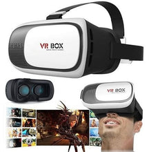 Load image into Gallery viewer, VR Box VR Headset Virtual Reality Goggles 3D Glasses - White And Black - TUZZUT Qatar Online Store