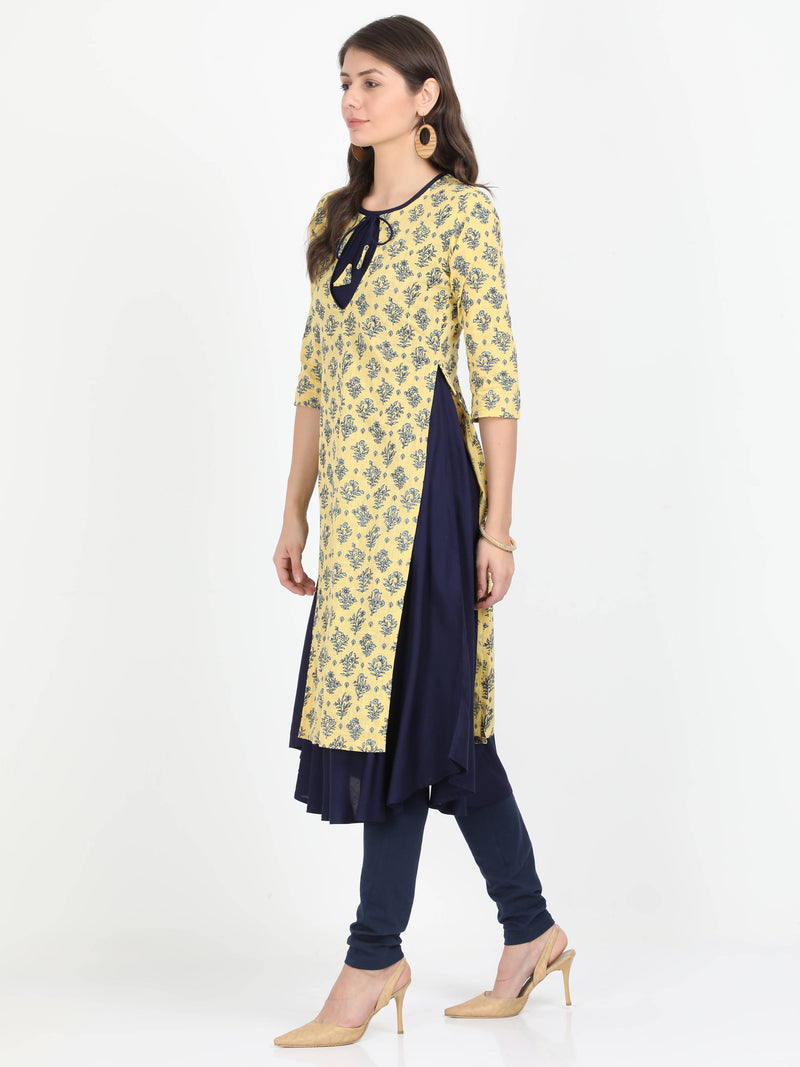 Long Kurta with Detachable Top - TUZZUT Qatar Online Store