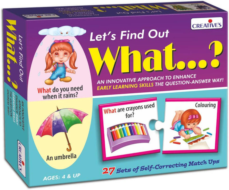 Let's Find out- What? - TUZZUT Qatar Online Store