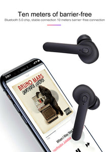 DT-5 TWS Wireless Bluetooth Headset 5.0 HIFI Earbuds Earphone Stereo Headphone - TUZZUT Qatar Online Store