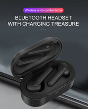 Load image into Gallery viewer, DT-5 TWS Wireless Bluetooth Headset 5.0 HIFI Earbuds Earphone Stereo Headphone