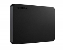 Load image into Gallery viewer, Toshiba Canvio Basics 1TB Portable External Hard Drive - Black (4041K11) - TUZZUT Qatar Online Store