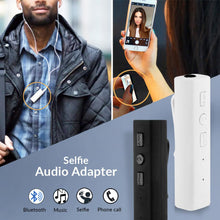 Load image into Gallery viewer, Bluetooth Selfie Audio Adapter - TUZZUT Qatar Online Store