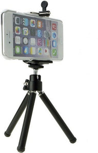 Small Travel Extendable Mini Mobile Tripod Stand with Phone Holder - TUZZUT Qatar Online Store