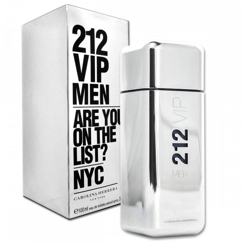 212 VIP Men Carolina Herrera for men 100ml - TUZZUT Qatar Online Store
