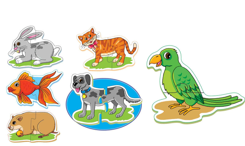 First Puzzles- Pet Animals - TUZZUT Qatar Online Store