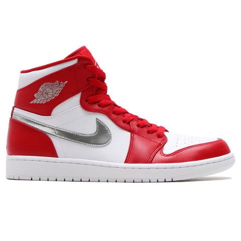 "Air Jordan 1 Retro High ""Olympic"" Gym Red/Metallic Silver-White 332550-602"