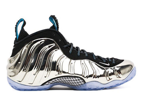 "Air Foamposite One AS QS ""Mirror Chromeposite"" Silver/Black 744306-001"