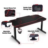 GTPLAYER Gaming Desk // T02-BLACK