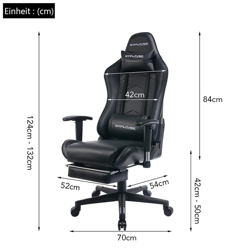 Footrest Series GT901-BLACK
