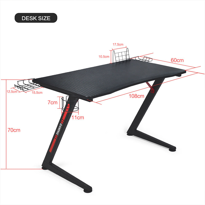 Gtplayer Gaming Desk // GTZ02
