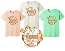 Load image into Gallery viewer, Let's Give them PUMPKIN to talk about! Short Sleeve Shirt