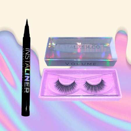 VOLUME BUNDLE Black InstaLINER + VOLUME InstaLASH - Insta Lash Co