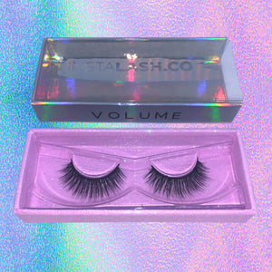 VOLUME INSTALASH Vegan Premium Synthetic Lashes Reuseable 35+ Times
