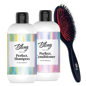 BLONG Hair Care Set for Hair Extensions