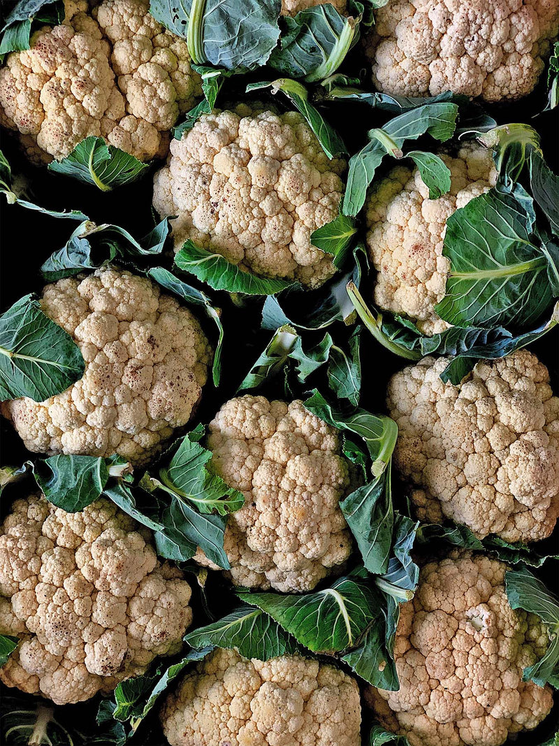 A bunch of GRIM cauliflowers