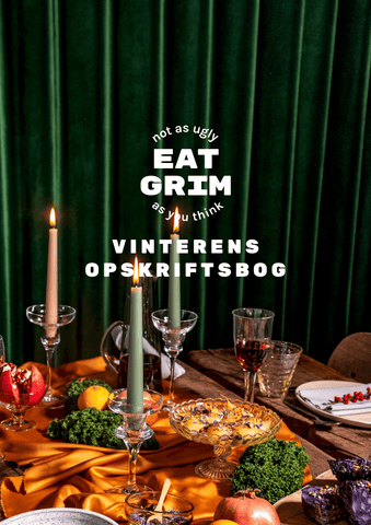 The cover of the Winter edition of the GRIM seasonal cooking books