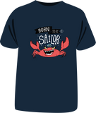 "Tricou sailing copii ""Born to be a sailor"""