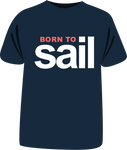 "Tricou ""Born to sail"" second edition"