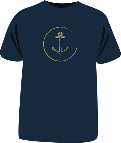 "Tricou ""Golden Anchor"""