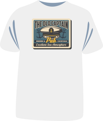 "Tricou sailing ""The Old Captain Pub"""